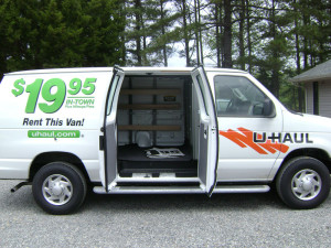 Sears Cargo Van Rentals. Maybe a moving truck rental is not necessary. Have you considered a cargo van rental instead? This choice is often overlooked, but it could be a viable alternative to a larger truck. Find a cargo van here. Pickup Truck Rental. Maybe you are looking for a discount, local move.